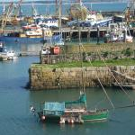 Boats in Newlyn Harbour