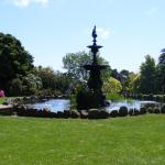 The fountain at Morrab Gardens, Penzance